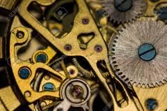 Mechanical watch, close up, watch repair